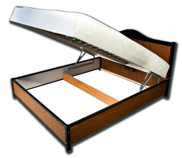 Двуспальная кровать с подъемным механизмом купить спб